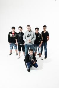 TeMain mit den Jungs von VdSiS